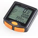 Xcellent Global Multi Function LCD Bicycle Cycling Computer Odometer Speedometer Stopwatch Waterproof NIGHT LIGHT M-FS011