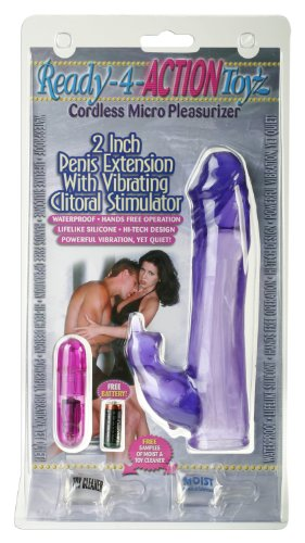 Pipedream Products R4a Penis Sleeve with Vibe Clit St, Purple