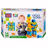 Mega Bloks First Builders Big Building Box 101 Pieces