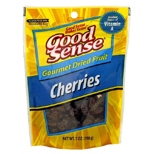 Buy Good Sense Trail Mix, Dried Cherries, 7-Ounce Bag (Pack of 3) (Good Sense, Health & Personal Care, Products, Food & Snacks, Snacks Cookies & Candy, Snack Food, Trail Mix)