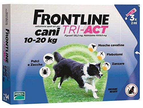 FRONTLINE TRI-ACT KG.10-20 (3P) Confezione da 1PZ