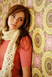 Girls CosmoGirl! Crochet Bloom Scarf In 2 Colours
