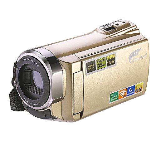 hausbell-hdv-5052-hdmi-1920x1080p-full-hd-wifi-digital-video-camera-infrared-night-vision-30ftps-cam