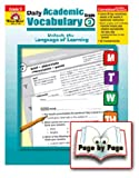 Daily Academic Vocabulary Gr 3