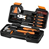 VonHaus 39-teiliges Werkzeug-Set für den Haushalt mit Aufbewahrungsbox