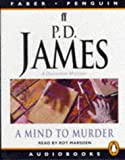 img - for A Mind to Murder (Adam Dalgliesh Mystery Series #2) book / textbook / text book