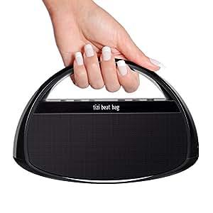 equinux tizi beat bag - Mobiler Bluetooth Lautsprecher mit Griff (mit austauschbarem tizi Akku)