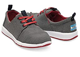 Toms Del Rey Sneakers Black Chambray 10006580 Youth 5