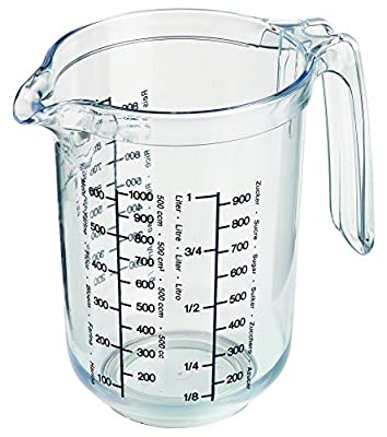 Westmark Measuring Cup Clear Multi Measurement Tool for Baking, Cooking, Sugar, Flour