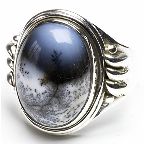stargems-tm-naturale-dendritic-opal-design-unico-stile-punk-argento-sterling-925-anello-us-dimension