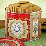 Nyakers Ginger Snaps and Cookie Tin