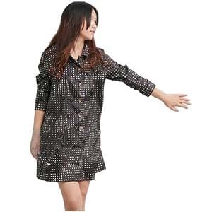 Amazon.com : Colorful Polka Dots Ladies Raincoat Rain Jacket Rainwear