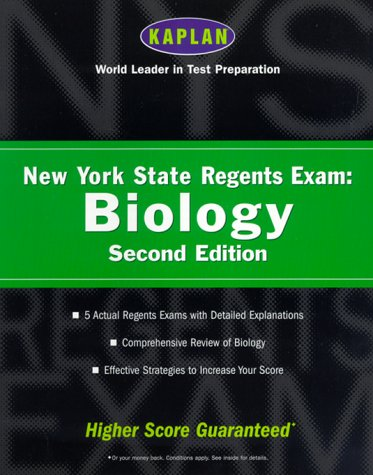 Kaplan New York State Regents Exam: Biology, Second Edition