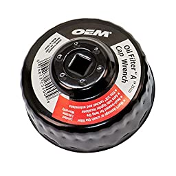 OEMTOOLS 25400  Oil Filter A Cap Wrench 74/76mm with 30 flutes