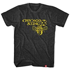 Chicago Sting Black Soccer T-shirt