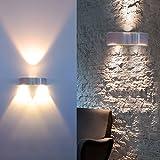 5 x Auralum® 3W LED Wandleuchte Wandbeleuchtung Designerlampen Treppenleuchten 300LM