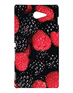 Pickpattern Back Cover for Xperia M2/Sony Xperia M2 Dual Sim