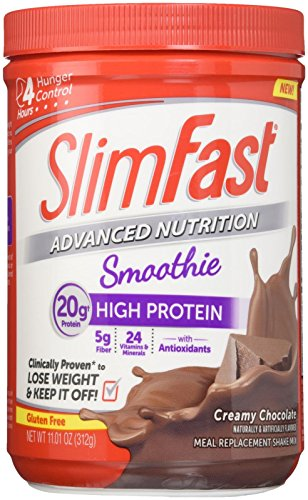 Slimfast Smoothie Powder - Creamy Chocolate - 11.01 oz (Slim Fast Powder Mix compare prices)
