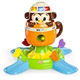 Bright Starts Hide and Spin Monkey
