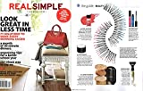 Real Simple Magazine - Life Made Easier - September 2014 - The Work Fashion Issue - What to Wear Now - Look Great In Less Time - 71 Solutions to Make Every Morning Easier - A Month of 20-Minute Dinners