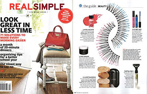 Real Simple Magazine - Life Made Easier - September 2014