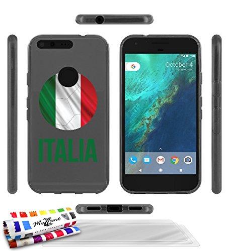 carcasa-flexible-ultra-slim-google-pixel-xl-de-exclusivo-motivo-balon-de-futbol-italia-gris-de-muzza
