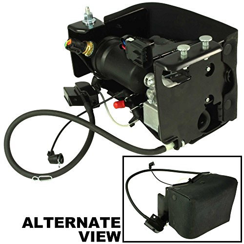 APDTY 050112 Air Suspension Compressor Assembly w/Dryer & Steel Mount Housing For 2007-2013 Escalade, Avalanche, Suburban, Yukon, Tahoe (Replaces GM 15254590) (Suspension Chevy Avalanche compare prices)