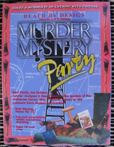 Murder Mystery Boxed Games for 10 Players