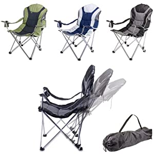Picnic Time Portable Reclining Camp Chair from Picnic Time