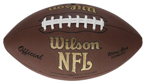 Wilson NFL Tackified Composite (W/O Stripes) American Football - Tan