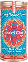Bhakti Chai Fiery Masala Chai Two Canisters Each with 14 Pyramid Bags