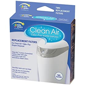 The First Years Clean Air Filter Replacement 2 pk