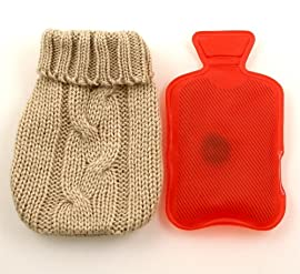 Lily's Home Instant Reusable Hand Warmer with Removable Mini Mitten Cover