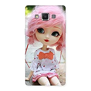 Gorgeous Pink Doll Back Case Cover for Samsung Galaxy A5