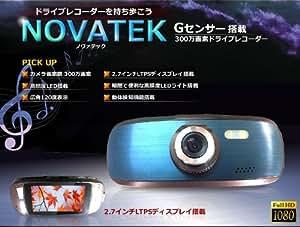 300万画素 小型 ドライブレコーダー CMOS 2.7インチディスプレイ 高画質 動体検知 Gセンサー カメラモード 高照度 LED