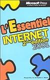 echange, troc Microsoft Corporation - L'Essentiel Internet  2001, 2e édition