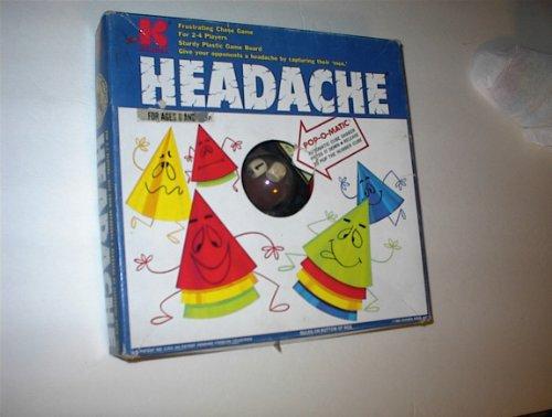 GAME OF HEADACHE Kohner Vintage Board Game Pop-O-Matic 1968 (Headache Board Game compare prices)