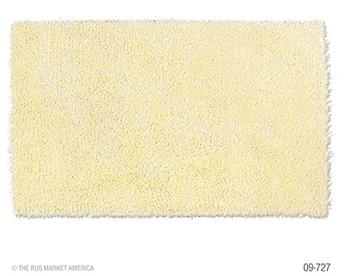 The Rug Market Coral Kids Yellow Area Rug  Size 4.7 by 7.7 ft.