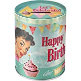 Nostalgic-Art 31006 Say it 50's Happy Birthday Birds