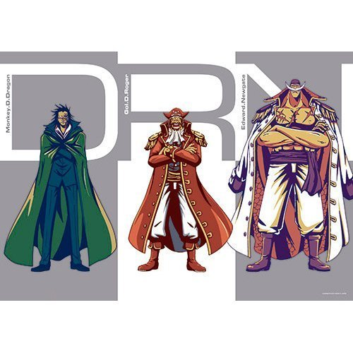 Ichiban Kuji Clear poster [One piece Bonds ] DRN Doragon Roger Newgate E Award queue by Banprest