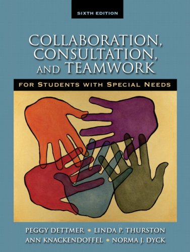 Collaboration, Consultation and Teamwork for Students...