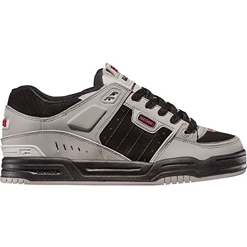 GLOBE Fusion - scarpe da skate - Grey/black/red - Eu 37- Us 5