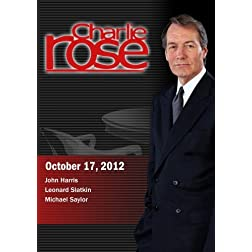 Charlie Rose - John Harris; Leonard Slatkin; Michael Saylor (October 17, 2012)