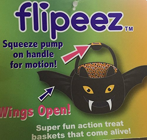 Flipeez Halloween Baskets - Bat