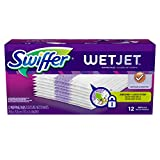 Swiffer WetJet Hardwood Floor Spray Mop Pad Refill Original 12 Count (Pack of 8)