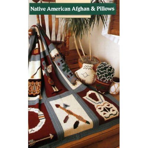 Native American Afghan & Pillows (Crochet Patterns) (8B017): Dawn Kemp