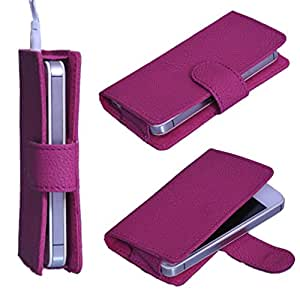StylE ViSioN Pu Leather Pouch for Infocus M550-3D
