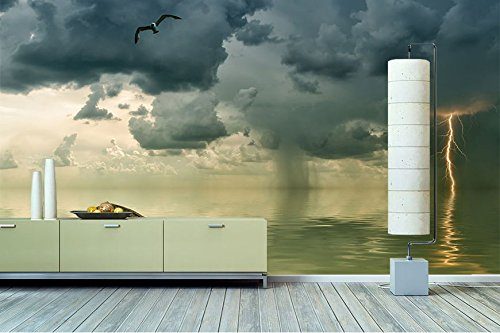 tableaux xxl papier peint intiss photo orage papier peint de qualit sup rieure en 6. Black Bedroom Furniture Sets. Home Design Ideas