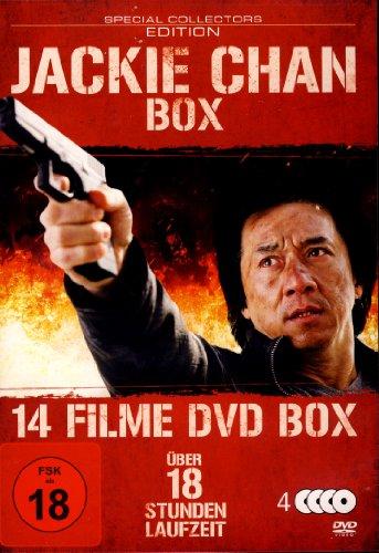 Jackie Chan Box - Special Edition - 14 Filme-Box mit über 18 Std Laufzeit [4 DVDs]