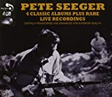 4 Classic Albums Plus Rare Live Recordings [Audio CD] Pete Seeger Pete Seeger